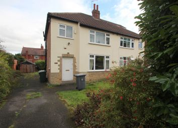 Thumbnail 3 bed semi-detached house to rent in Becketts Park Crescent, Headingley, Leeds
