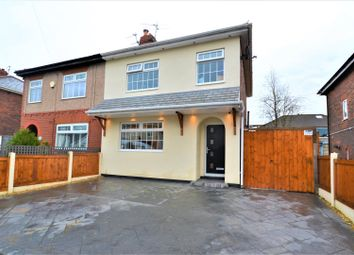 Thumbnail 3 bed semi-detached house for sale in Norwood Avenue, Tyldesley, Manchester