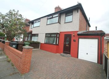 Thumbnail 3 bed semi-detached house for sale in Wylva Avenue, Liverpool, Merseyside