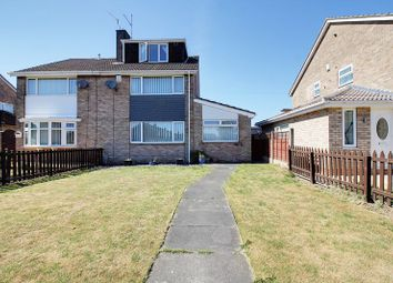 Thumbnail 3 bed semi-detached house for sale in Gorsedale, Sutton-On-Hull, Hull
