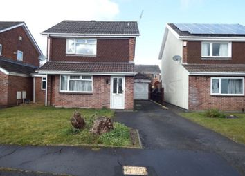 Thumbnail 3 bed detached house for sale in Nash Close, Fourteen Locks, Rogerstone .