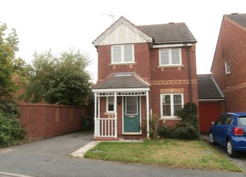 Thumbnail 3 bed detached house to rent in Darien Way, Thorpe Astley