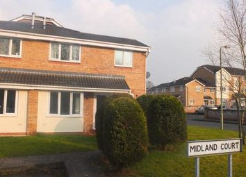 Thumbnail 2 bed semi-detached house to rent in Midland Court, Madeley