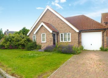 Thumbnail 4 bed detached bungalow for sale in Street Farm Close, Holywell Row, Bury St. Edmunds