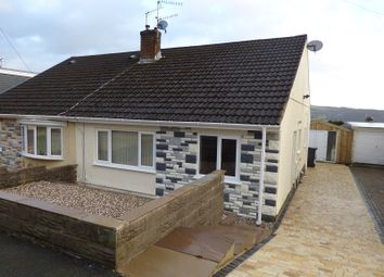 Thumbnail 2 bed semi-detached bungalow for sale in Drumau Park, Skewen, Neath .
