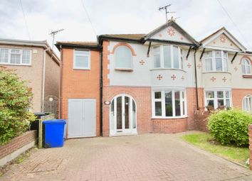 Thumbnail 4 bed semi-detached house for sale in Roundwood Avenue, Prestatyn