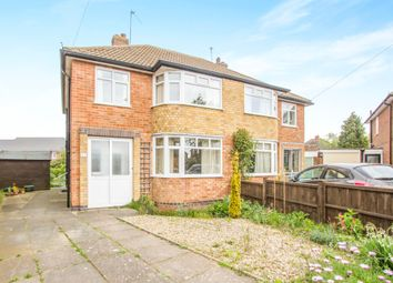 Thumbnail 3 bedroom semi-detached house for sale in Edgeley Road, Countesthorpe, Leicester