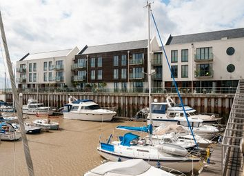 Thumbnail 3 bed flat for sale in Waterside Marina, Brightlingsea, Colchester