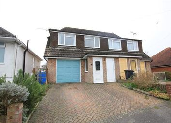 Thumbnail 4 bedroom semi-detached house to rent in Fortescue Road, Parkstone, Poole