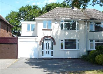 Thumbnail 4 bed semi-detached house for sale in D'eyncourt Road, Wednesfield, Wednesfield