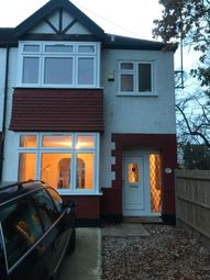 Thumbnail 4 bed semi-detached house to rent in Long Lane, London