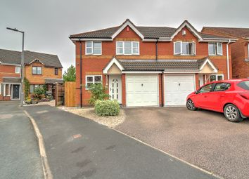 Thumbnail 3 bed semi-detached house for sale in Snowdrop Close, Clayhanger, Walsall