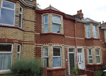 Thumbnail 3 bed terraced house to rent in Ladysmith Road, Exeter