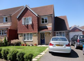 Thumbnail 4 bedroom detached house to rent in Draymans Way, Ipswich