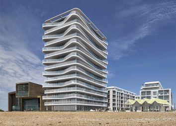 Thumbnail 3 bed flat for sale in Bayside Apartments, 62 Brighton Road, Worthing, West Sussex