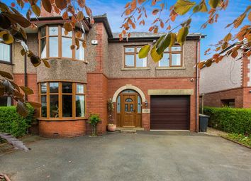 Thumbnail 4 bed semi-detached house for sale in Longridge Road, Grimsargh, Preston