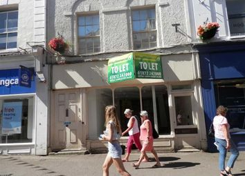 Thumbnail Retail premises to let in 26, Market Street, Falmouth, Cornwall