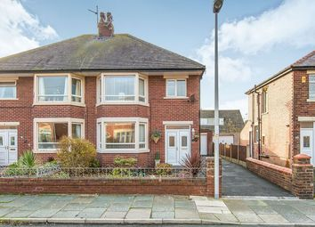 Thumbnail 3 bed semi-detached house for sale in Balham Avenue, Blackpool