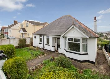 Thumbnail 3 bed detached bungalow for sale in Audley Avenue, Torquay, Devon.