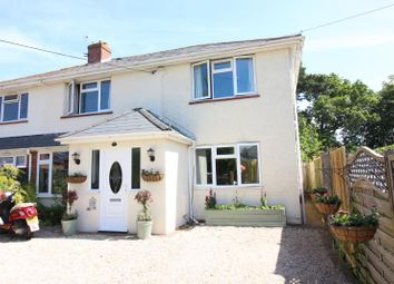 Thumbnail 4 bed semi-detached house for sale in Fawcett Road, New Milton