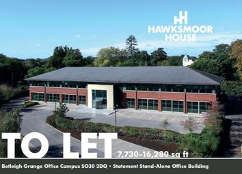 Thumbnail Office to let in Hawksmoor House, Botleigh Grange Office Campus, Grange Drive, Hedge End