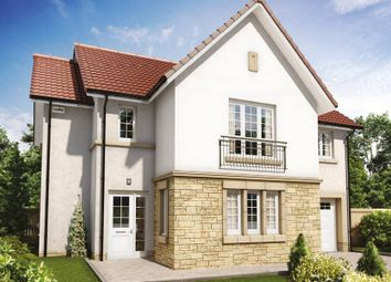 "Thumbnail 4 bed detached house for sale in ""Cleland"" at Penicuik Road, Roslin"