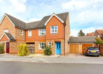 Thumbnail 3 bedroom semi-detached house for sale in Leonardslee Crescent, Newbury, Berkshire