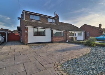 Thumbnail 3 bed semi-detached bungalow to rent in Prestbury Drive, Thelwall, Warrington