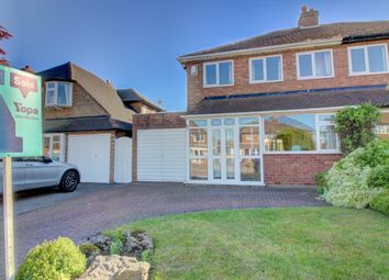 Thumbnail 3 bed semi-detached house for sale in Ferndale Road, Streetly, Sutton Coldfield