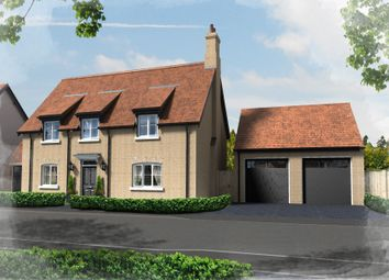 Thumbnail 4 bed detached house for sale in Plot 22, Hill Place, Brington, Huntingdon