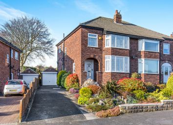 Thumbnail 3 bed semi-detached house for sale in Buckstone Avenue, Leeds
