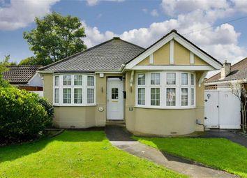 Thumbnail 2 bed detached bungalow for sale in Devon Way, West Ewell, Surrey
