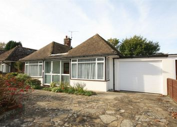 Thumbnail 2 bed detached bungalow for sale in Ocklynge Close, Little Common, Bexhill On Sea