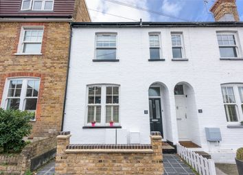 Thumbnail 3 bed terraced house for sale in Jessamy Road, Weybridge, Surrey
