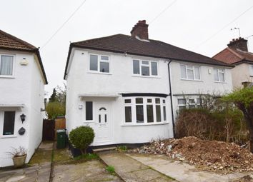 Thumbnail 3 bed semi-detached house to rent in Leggatts Wood Avenue, North Watford