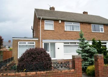 Thumbnail 3 bed semi-detached house for sale in Moorhouse Gardens, Hetton-Le-Hole, Houghton Le Spring, Tyne And Wear