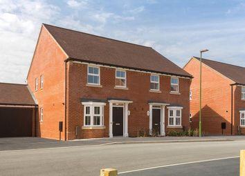 "Thumbnail 3 bed semi-detached house for sale in ""Oakfield"" at Braishfield Road, Braishfield, Romsey"