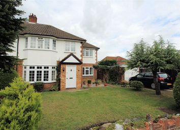 Thumbnail 4 bed semi-detached house for sale in Eden Close, New Haw, Addlestone