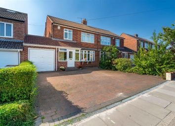 Thumbnail 3 bed semi-detached house for sale in Greenfield Road, Gosforth, Newcastle Upon Tyne