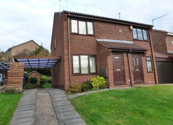 Thumbnail 2 bed semi-detached house to rent in Timbersbrook Close, Oakwood, Derby