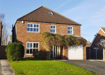 Thumbnail 6 bed detached house for sale in Owlwood Lane, Dunnington, York