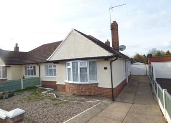 Thumbnail 2 bed bungalow for sale in Cheddar Road, Wigston, Leicestershire