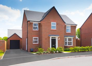 "Thumbnail 4 bed detached house for sale in ""Mitchell"" at Croft Drive, Moreton, Wirral"