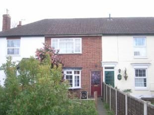 Thumbnail 2 bed terraced house to rent in Edward Road, Freemantle, Southampton