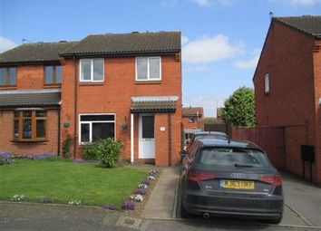 Thumbnail 3 bed semi-detached house for sale in Wilf Bown Close, Earl Shilton, Leicester