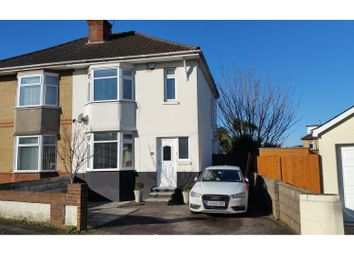 Thumbnail 3 bed semi-detached house for sale in Howeth Road, Bournemouth