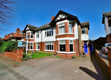 Thumbnail 5 bedroom semi-detached house for sale in Grappenhall Road, Stockton Heath, Warrington, Cheshire