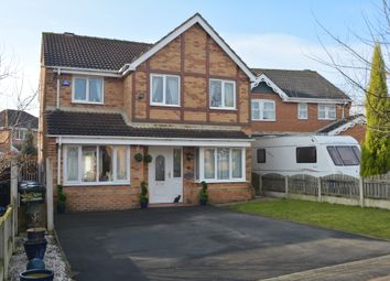 Thumbnail 4 bed detached house for sale in Broomcliffe Gardens, Shafton