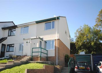 Thumbnail 2 bedroom semi-detached house to rent in Castle Hill Gardens, Torrington, Devon
