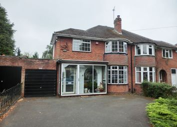 Thumbnail 3 bedroom semi-detached house for sale in Stroud Road, Shirley, Solihull
